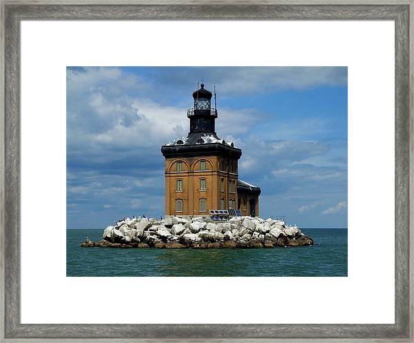 Toledo Harbor Lighthouse Framed Print