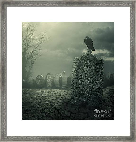 Tombstone Framed Print