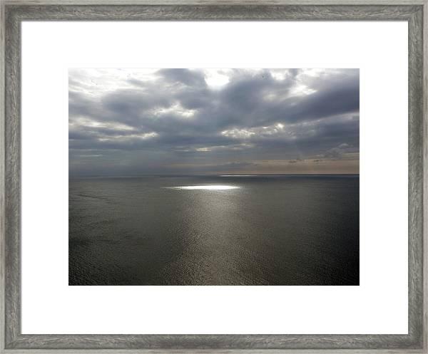 Torr Head Sunlight Framed Print