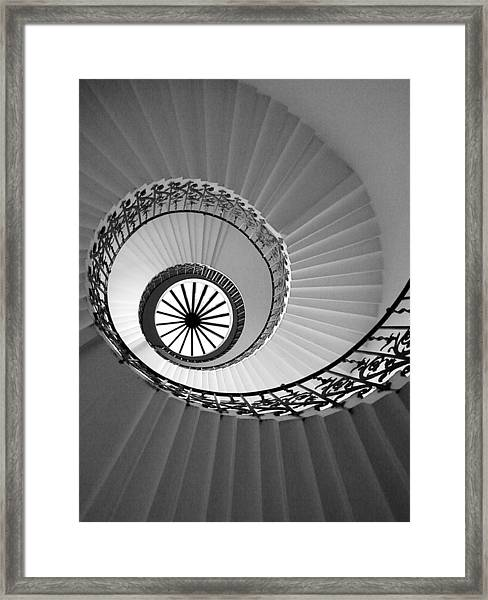 Tulip Staircase Framed Print