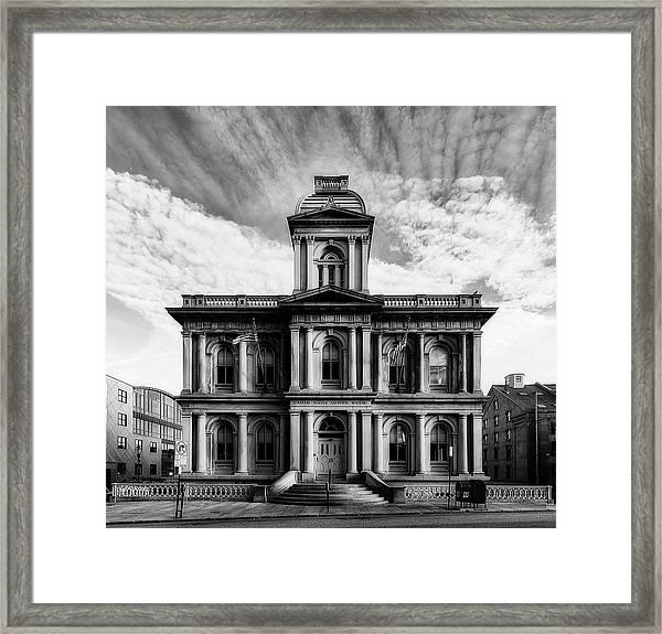 United States Custom House - Portland, Maine Framed Print