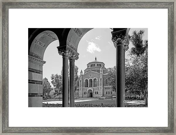University Of California Los Angeles Powell Library Framed Print