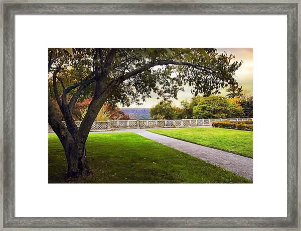 Untermyer Garden Framed Print