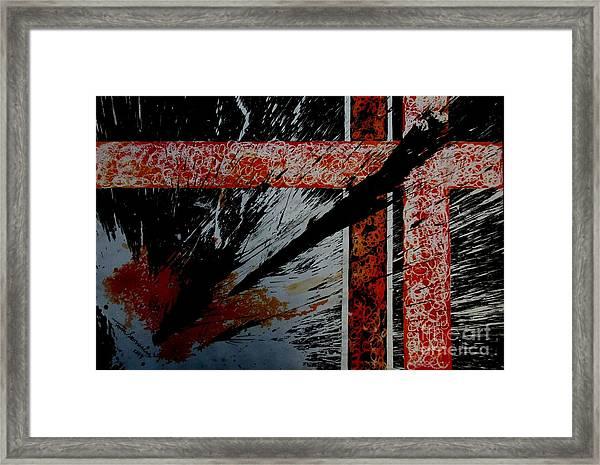 Fencing-2 Framed Print