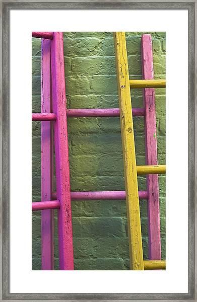 Upwardly Mobile Framed Print