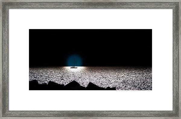 Vela Framed Print
