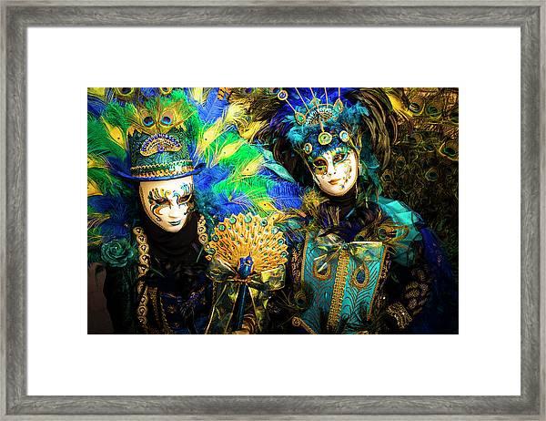 Venice Carnival I '17 Framed Print