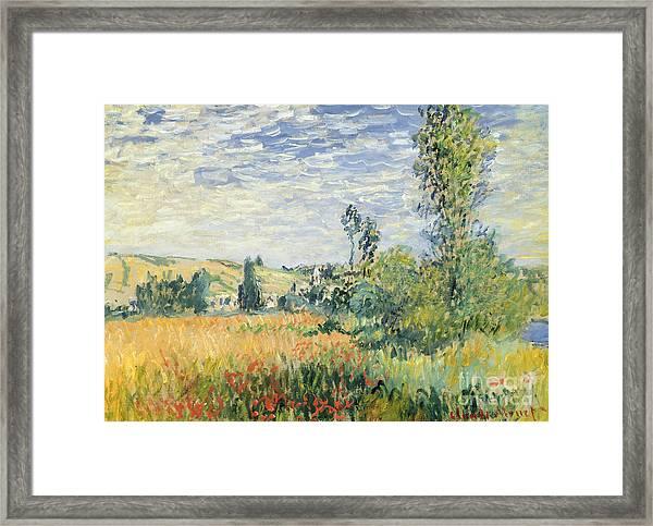 Vetheuil Framed Print