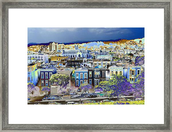 View From Alta Plaza Framed Print