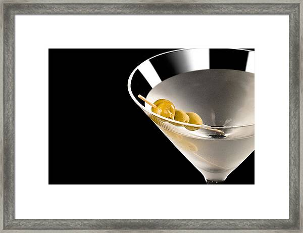Vodka Martini Framed Print