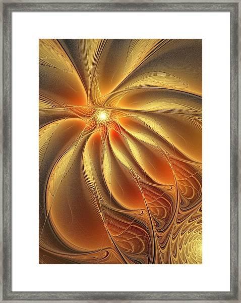 Warm Feelings Framed Print