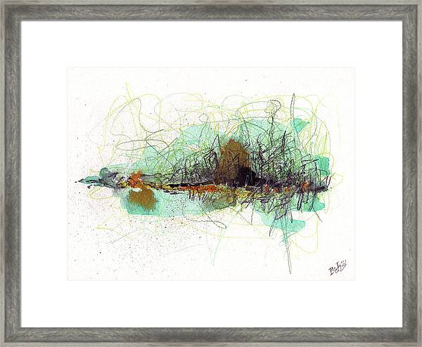 Wearing Of The Green Framed Print