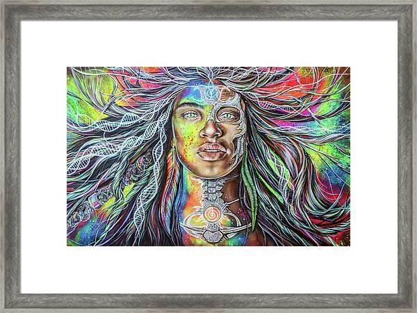 Wild Re-membering  Framed Print