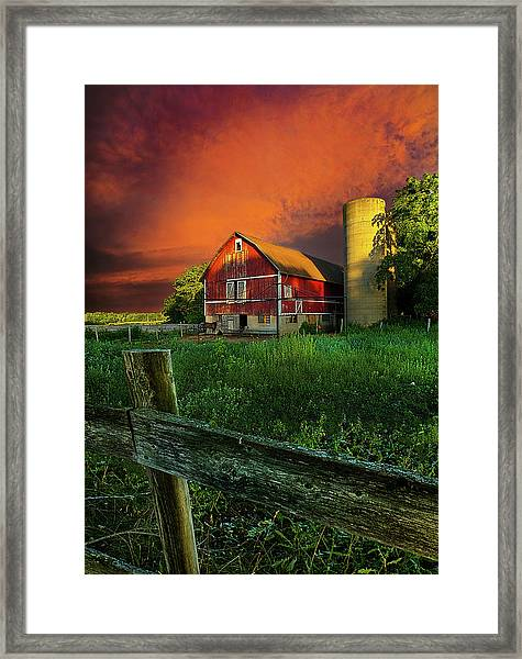 Wisconsin Life Framed Print