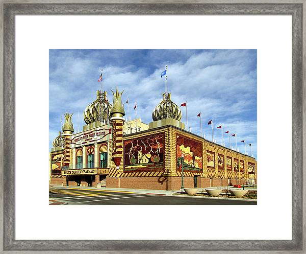 World's Only Corn Palace 2017-18 Framed Print