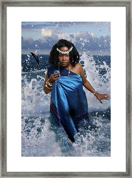 Yemaya Framed Print