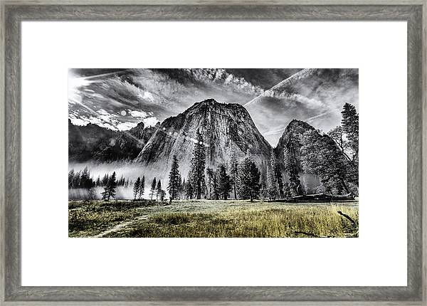 Yosemite Dawn Framed Print