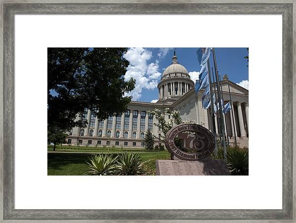 You're Doin Fine Oklahoma Framed Print