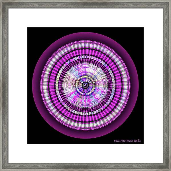 Framed Print featuring the digital art 102920171 by Visual Artist Frank Bonilla
