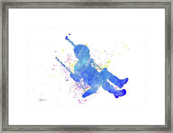 10828 Swing Time Framed Print