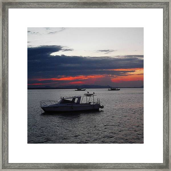 #10yearsoftravel Another Amazing Sunset Framed Print by Dante Harker
