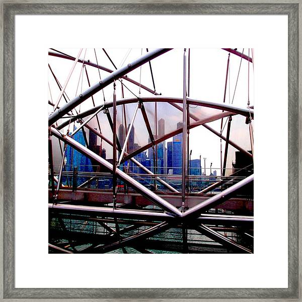 #10yearsoftravel Funny How A Bit Of Odd Framed Print by Dante Harker