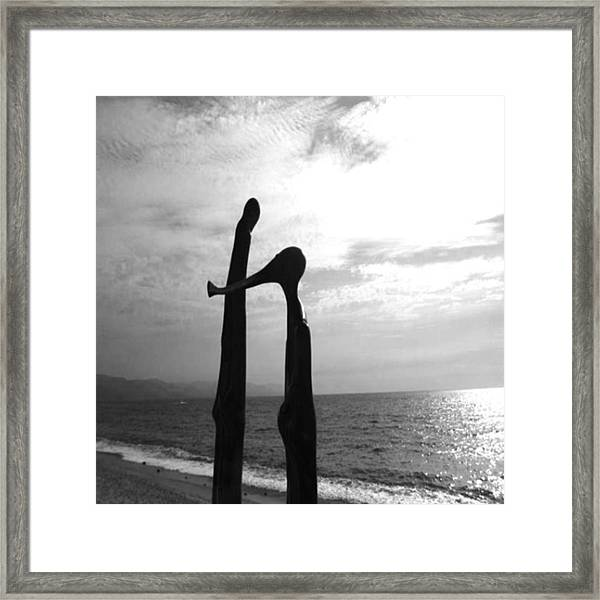 #10yearsoftravel I Don't Usually Post Framed Print by Dante Harker