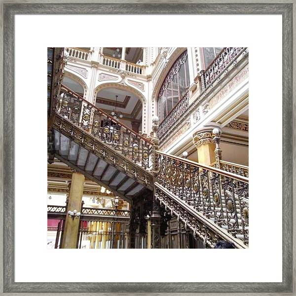 #10yearsoftravel I Just Love The Lines Framed Print by Dante Harker