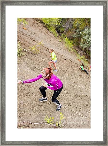 Pikes Peak Road Runners Fall Series Race Framed Print