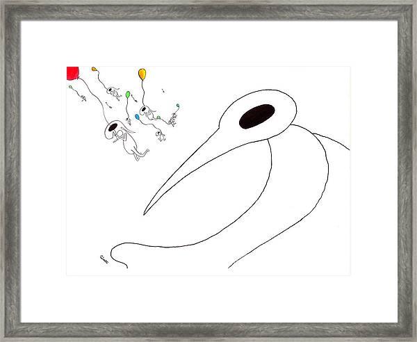 11 Winkles Framed Print