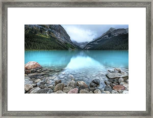 1111 Lake Louise Framed Print