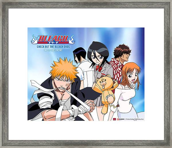 Bleach Framed Print