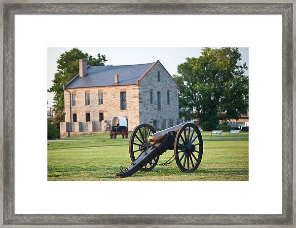 12-pounder Napoleon Framed Print