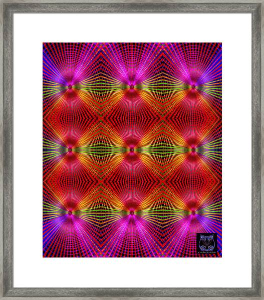 Framed Print featuring the digital art #122720154 by Visual Artist Frank Bonilla