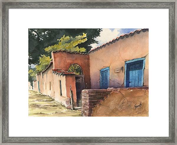 1247 Agua Fria Street Framed Print