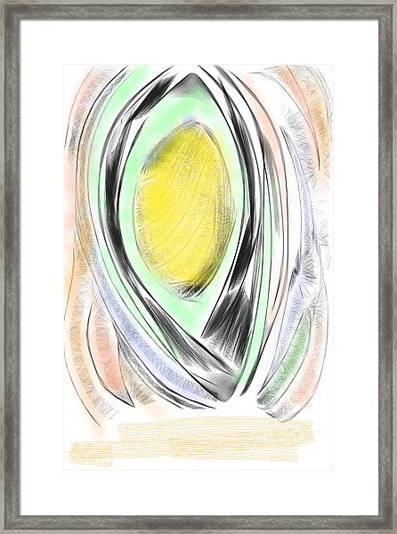 Digital Abstract  Framed Print