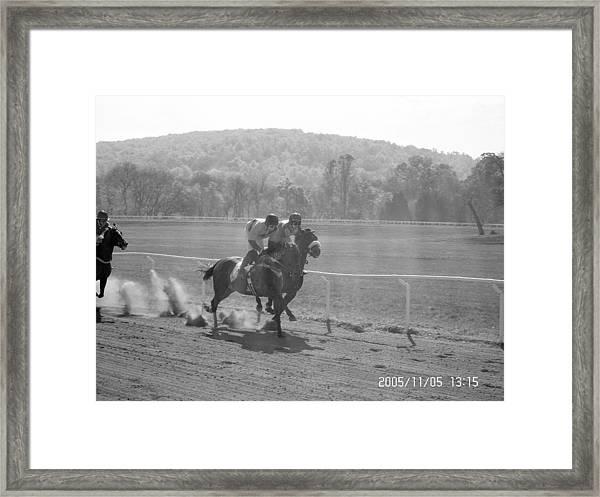 The Montpelier Hunt Races Framed Print