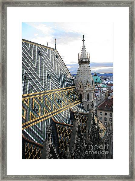 St Stephens Cathedral Vienna Framed Print