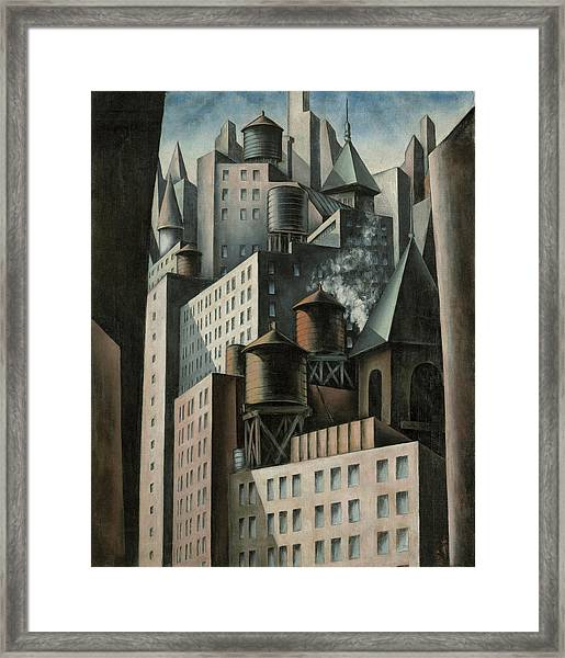 14th Street New York City Framed Print