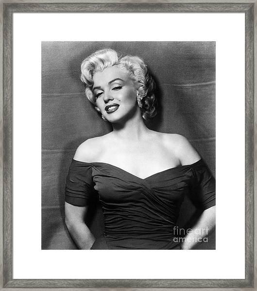 Marilyn Monroe (1926-1962) Framed Print