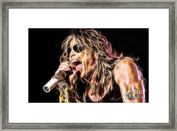 Steven Tyler Collection Framed Print