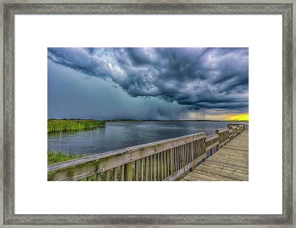 Storm Watch Framed Print