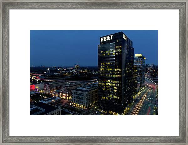 17th Street Skyline Framed Print