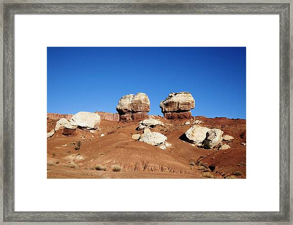 Capitol Reef National Park Framed Print by Mark Smith