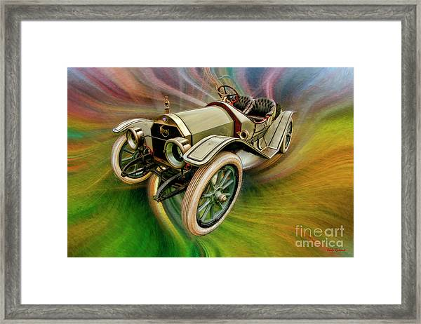 1912 Moon 30 Raceabout Framed Print