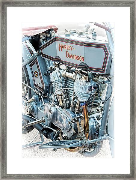 1915 Harley Davidson 11f Framed Print