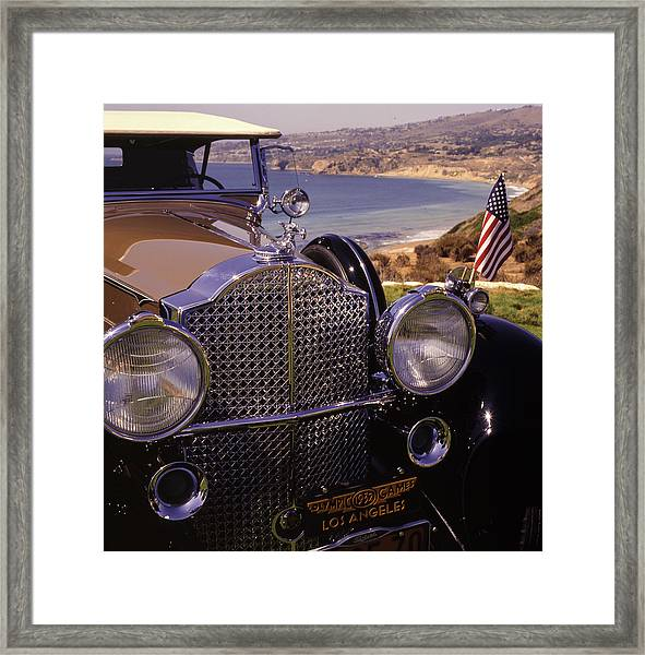 Framed Print featuring the photograph 1932 Packard Phaeton by Samuel M Purvis III