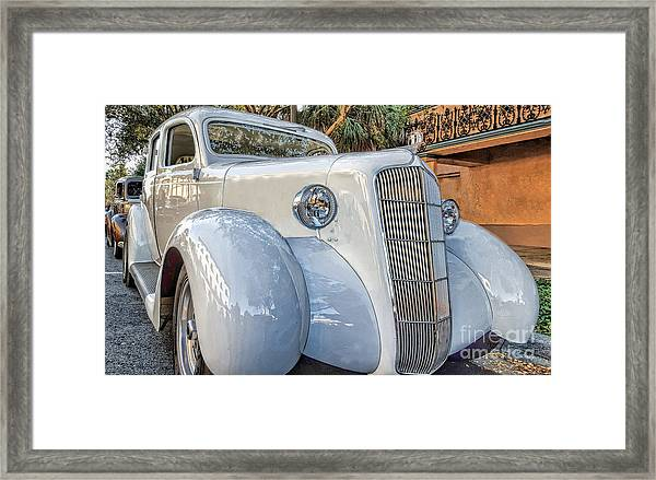 1935 Plymouth Coupe - Series 1 Of 3 Framed Print