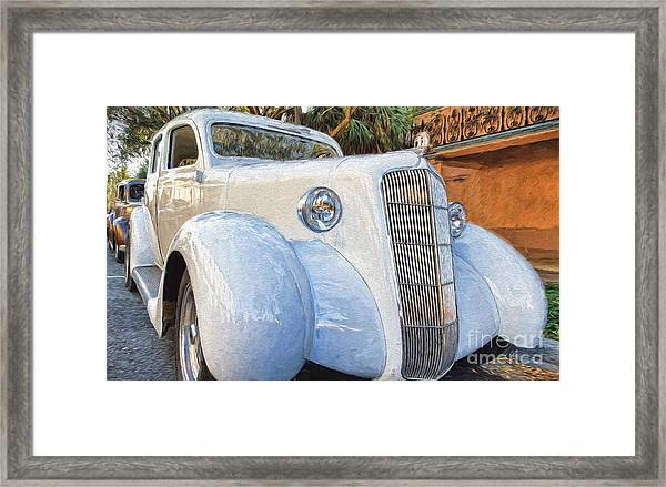 1935 Plymouth Coupe Series 3 Of 3 Framed Print