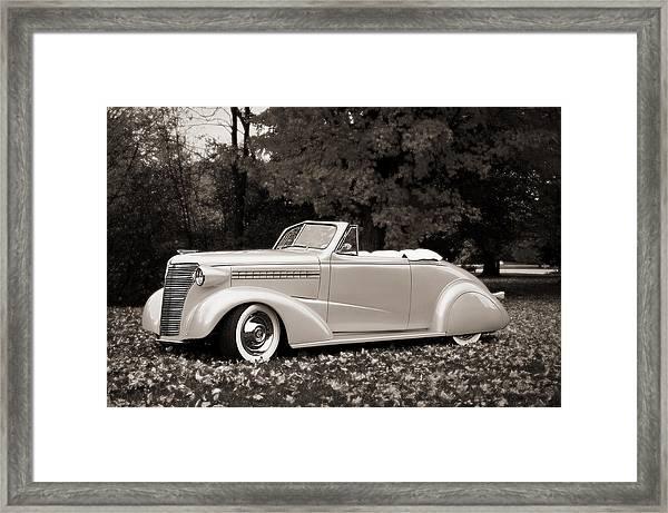1938 Chevrolet Convertible Framed Print